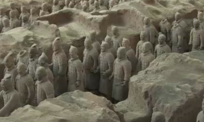 The Terracotta Warriors.
