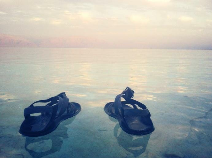 photo, image, shoes, dead sea