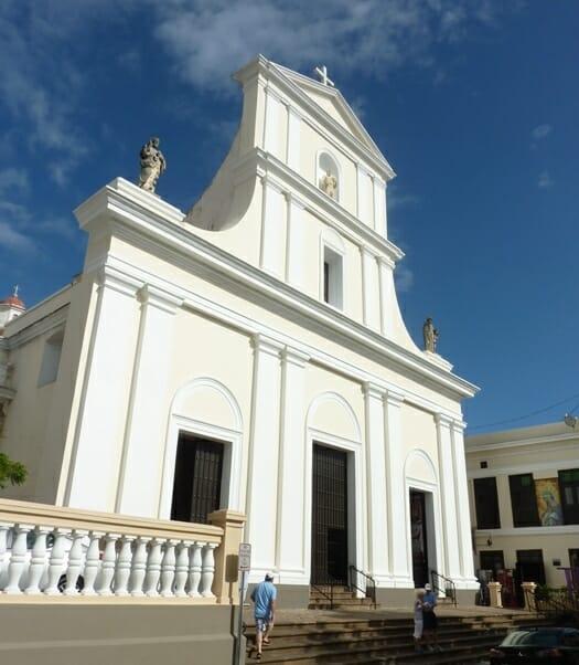 photo, image, cathedral, san juan