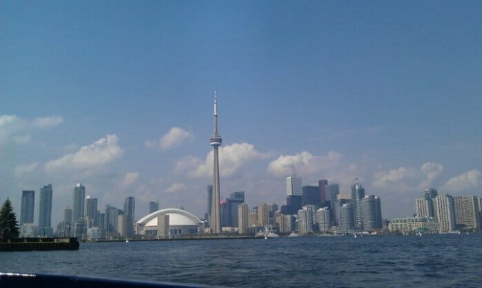 photo, image, toronto, skyline