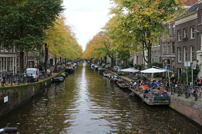 photo, image, canal, amsterdam