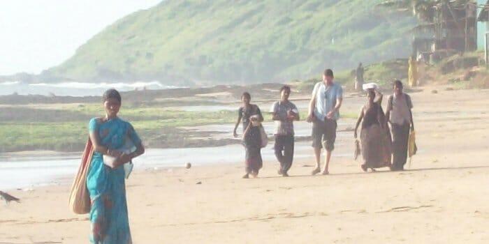 photo, image, anjuna beach, goa