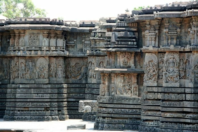 photo, image, temple, halebidu
