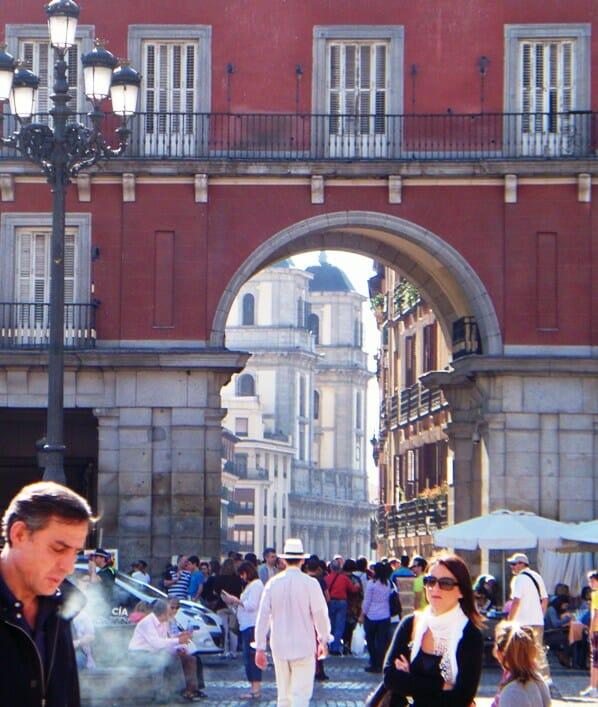 photo, image, plaza mayor, madrid
