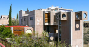 A view of Arcosanti. There is so much more to this urban laboratory that I'll show you soon.