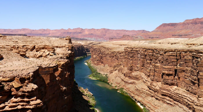 colorado river, spectacular views