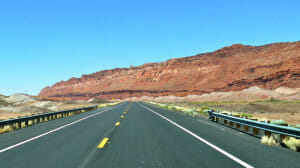 Highway 89A north before Vermillion cliffs