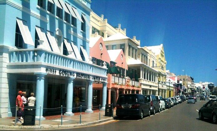 photo, image, bermuda, street