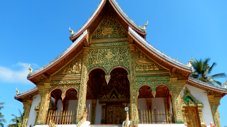 photo, image, temple, luang prabang