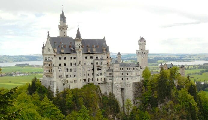 photo, image, castle, Neuschwanstein, munich, germany