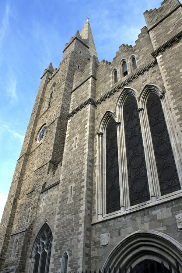 photo, image, st. patrick's cathedral, dublin