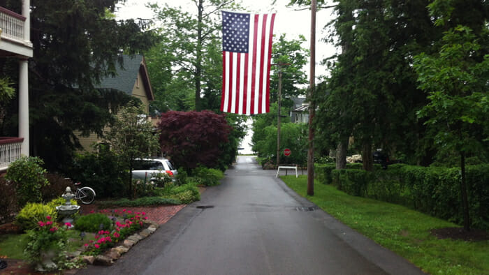 It was a wet 4th of July morning but spirits were not dampened in the least.
