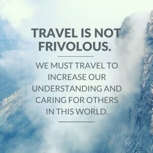 """Two Powerful Concepts for the """"Why"""" of Travel"""