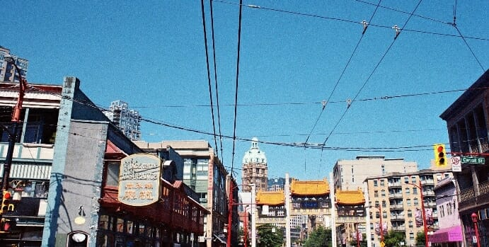 photo, image, chinatown, vancouver