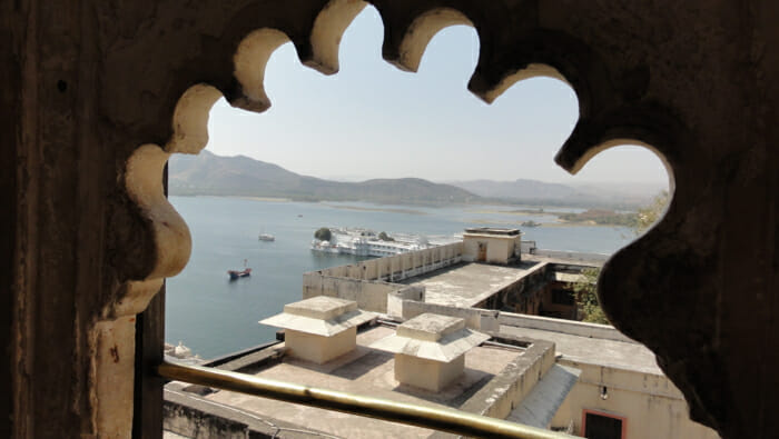 View of Lake Pichola from City Palace