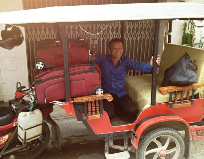 photo, image, tuk tuk, phnom penh