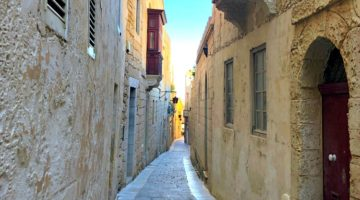 photo, image, street, mdina, malta