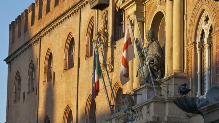 The Palazzo d'Accursio