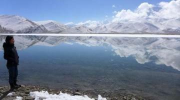 photo, image, karakul lake, china