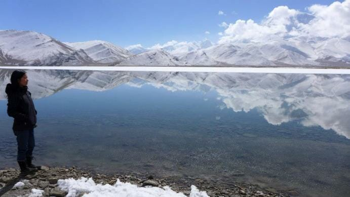 photo, image, karakul lake, china