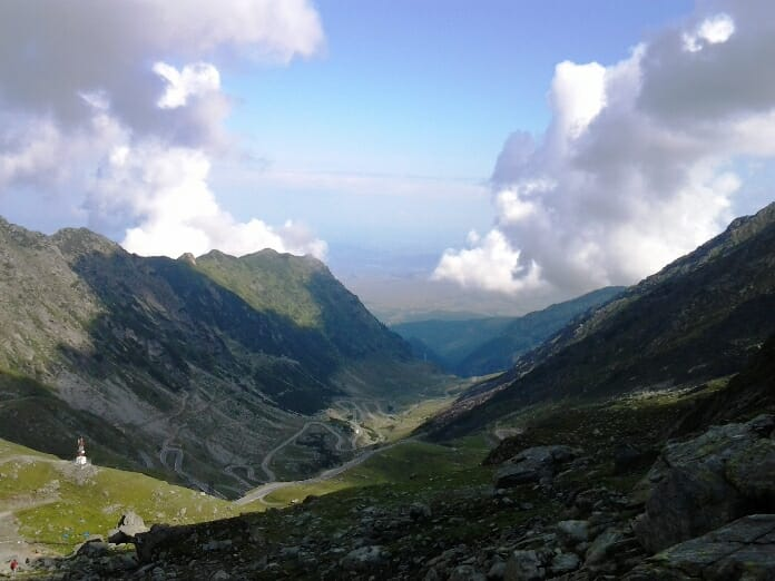 photo, image, fagaras mountains, romania
