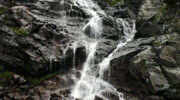 photo, image, waterfall, romania