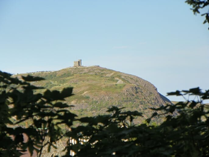 photo, image, signal hill, cabot tower