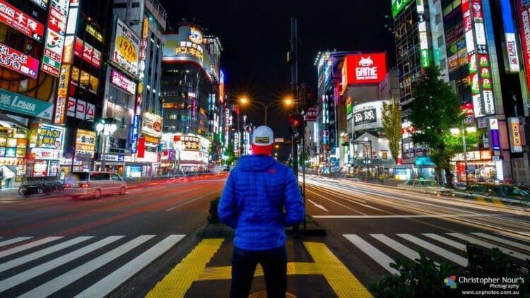 photo, image, tokyo, male solo travel