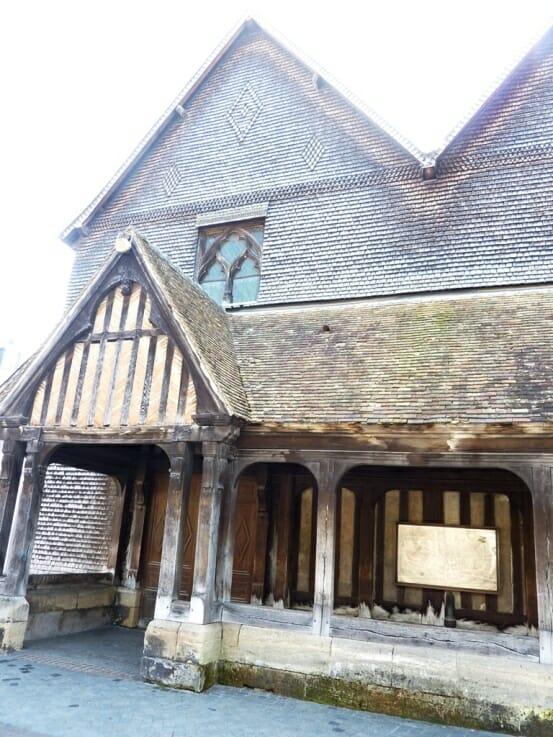 photo, image, church of sainte-catherine, honfleur