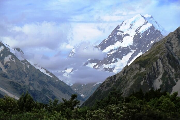 photo, image, mount cook