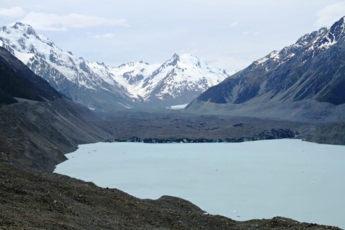 photo, image, tasman glacier, new zealand