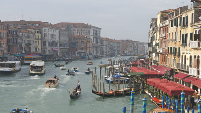 solo travel venice grand canal