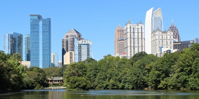 photo, image, atlanta, skyline