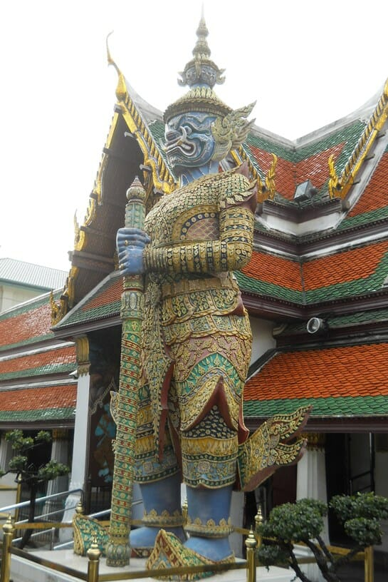 photo, image, demon guards, bangkok