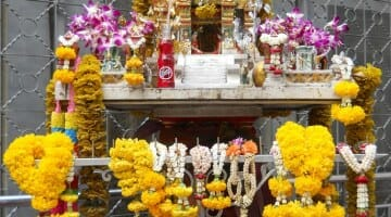 photo, image, shrine, bangkok
