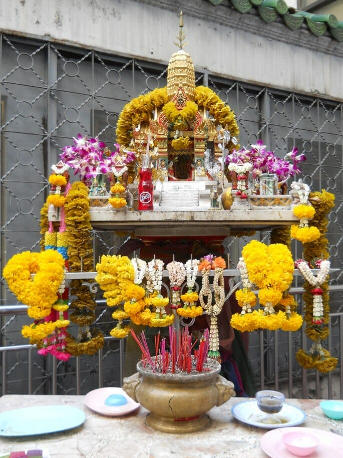 photo, image, shrine, bangkok