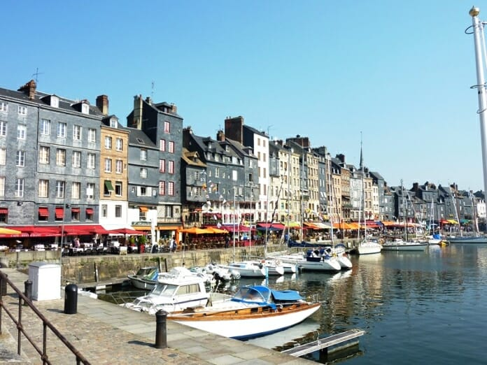 photo, image, old harbour, honfleur