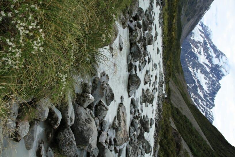 photo, image, hooker river, new zealand
