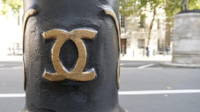 Coco Channel logo in London