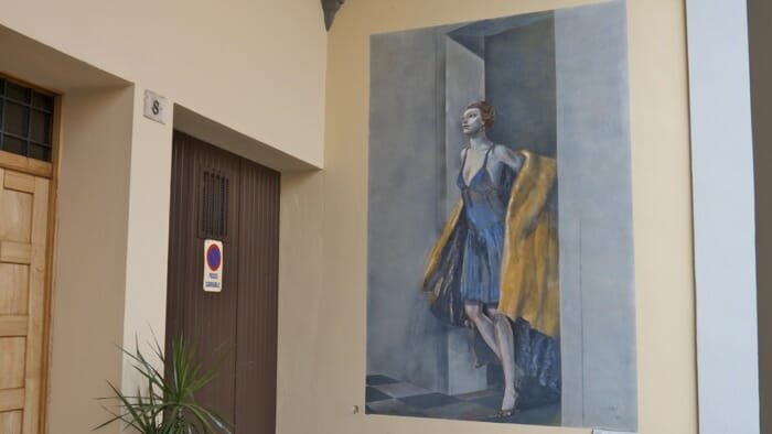 wall painting, emilia romagna