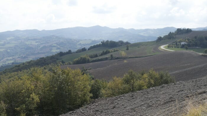 The views from the top were absolutlely beautiful. I wish I could have stopped more but it is just not advisable at some places along the road, emilia romagna