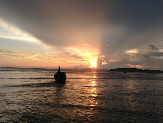 photo, image, sunset, krabi