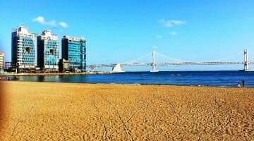 photo, image, gwangali bridge, busan