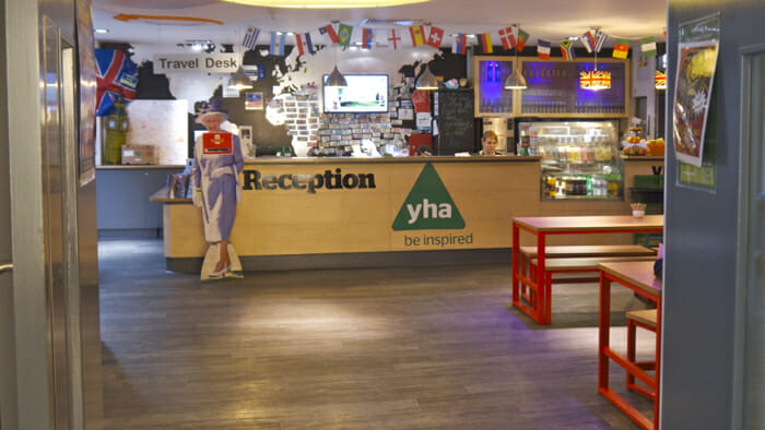Welcome to YHA London Central.