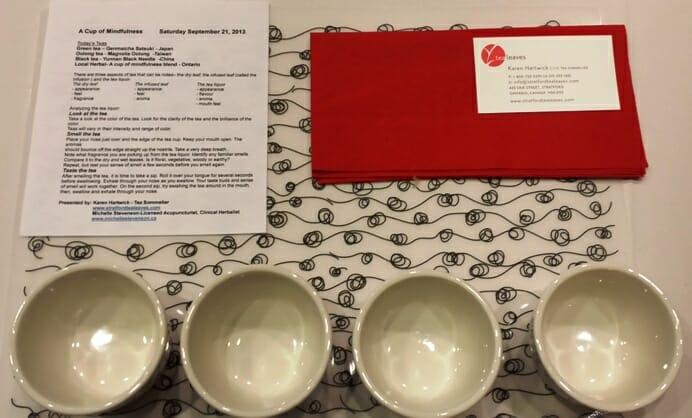 photo, image, tea tasting