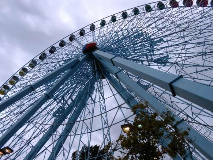 photo, image, ferris wheel, texas state fair