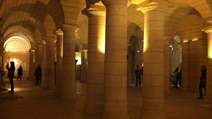 The crypt.