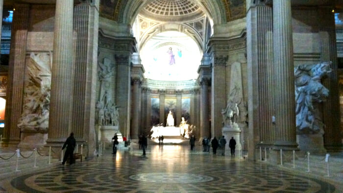 Walking into the Pantheon