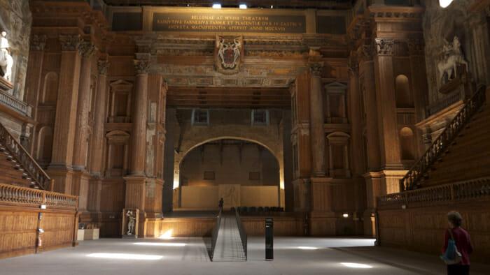 Theatre palazzo della pilotta