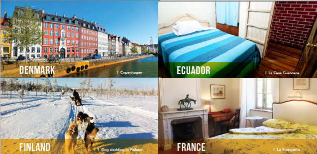 solo travel accommodation and destination inspiration